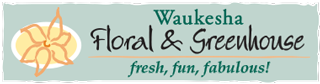 Waukesha Floral & Greenhouse Logo