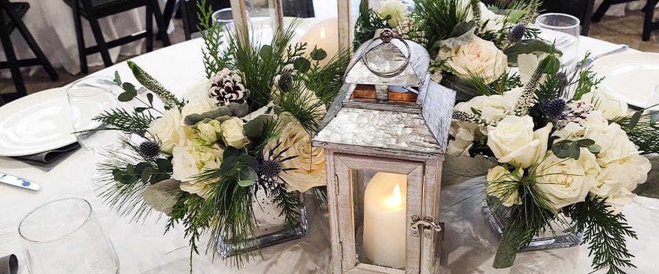 Waukesha Floral Wedding Center Peices